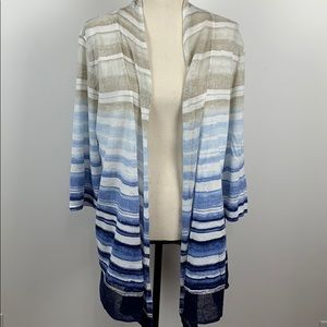 Chico's Open Front Cardigan Size 2 (L/14)